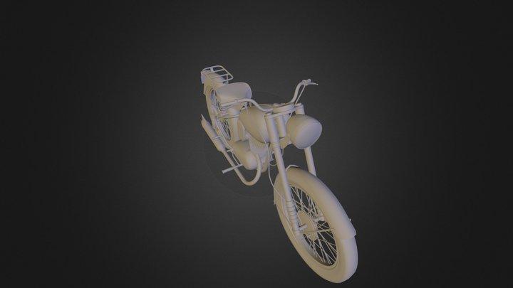 Bsa Bantam 2 3D Model