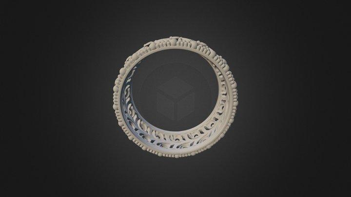 Кольцо на пробу с текстурами 3D Model