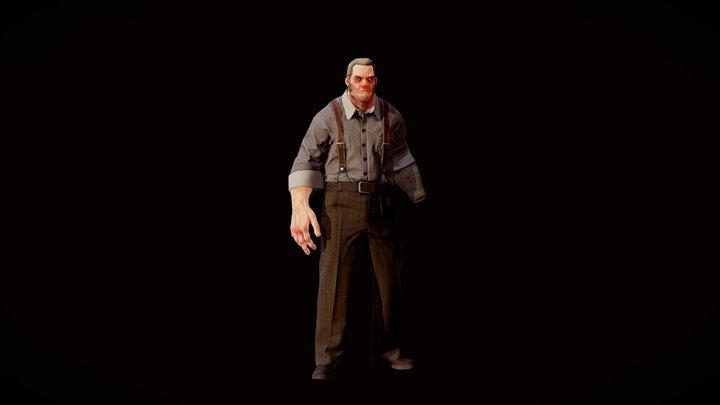 William Dwyer 3D Model