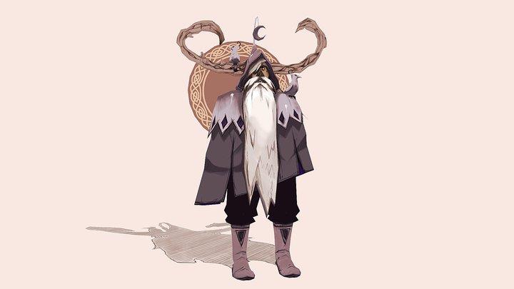 Odin for 3d-ify Challenge April 3D Model