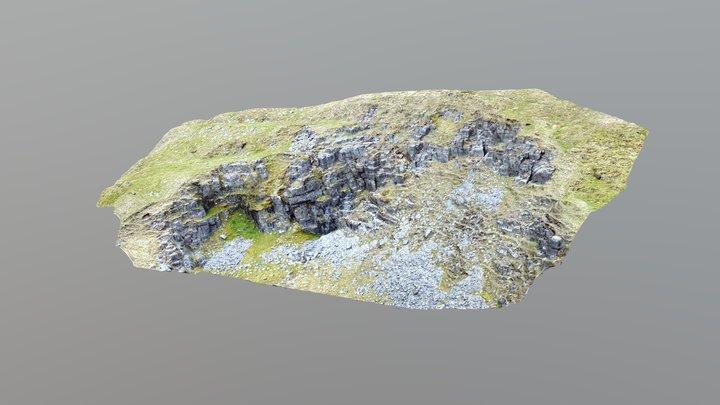 Quarry Face 3D Model