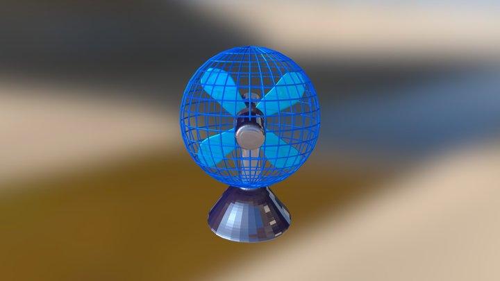 T. Ventilador 3D Model