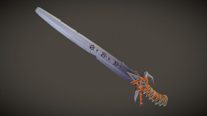 Weaponcraft: Executioner's Greatsword 3D Model