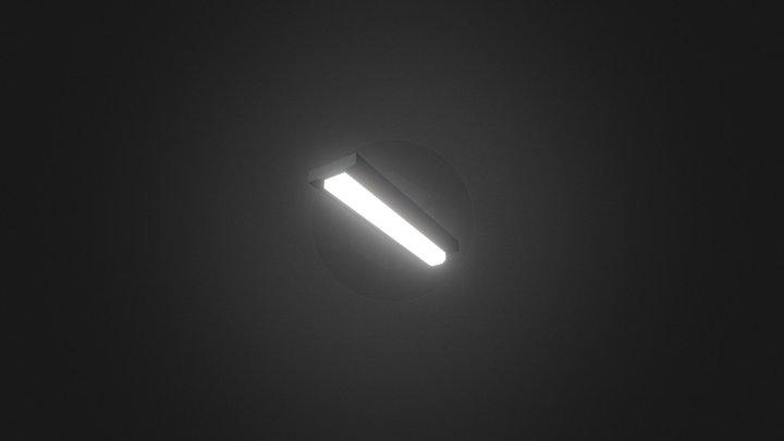 Props - Neon Lamp 3D Model