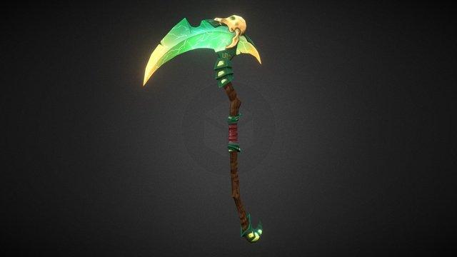 Dota2 Necrophos Weapon 3D Model
