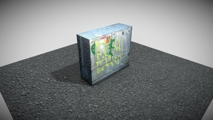 electric cabinets sample 1 3D Model
