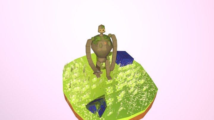 1075448075_方思棋_天空之城 3D Model