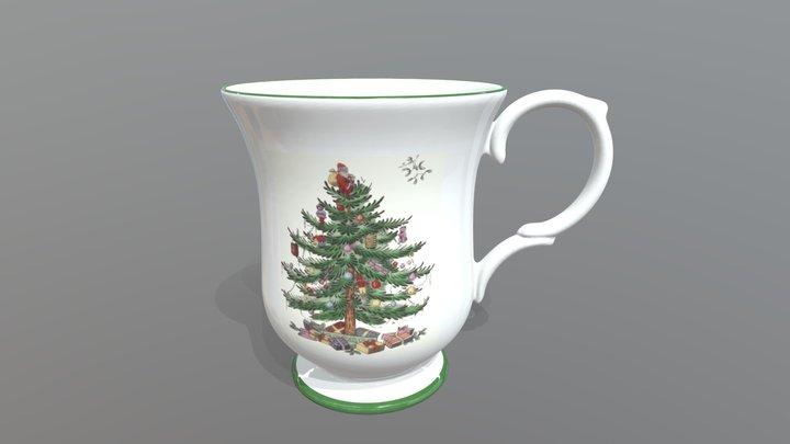 Spode - Christmas Mug 3D Model