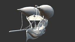 airship 2 3D Model