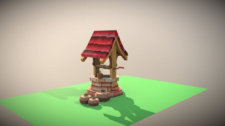 3d well model 3D Model
