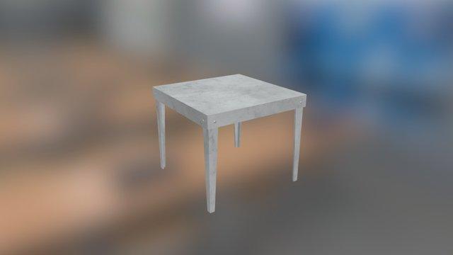 Monter Stol 3D Model