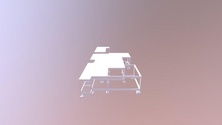 PROJETO ESTRUTURAL - RESIDÊNCIA 3D Model