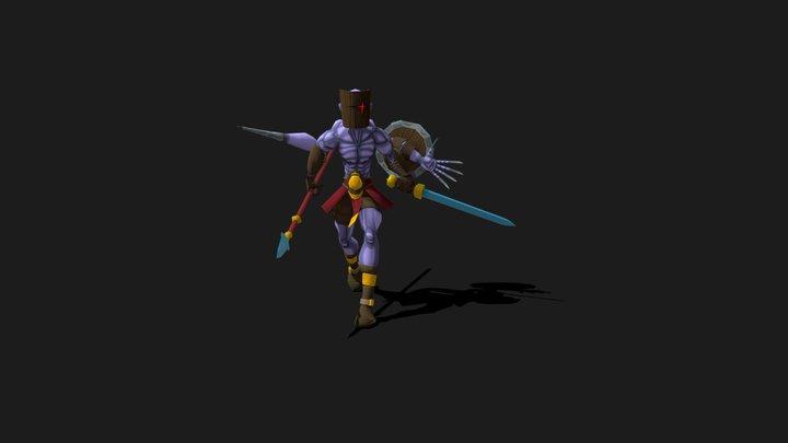 The Champion 3D Model