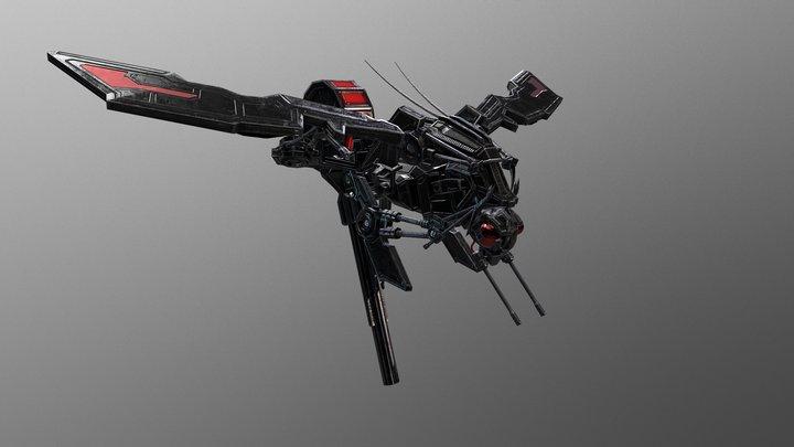 Apocrita Assault Platform 3D Model