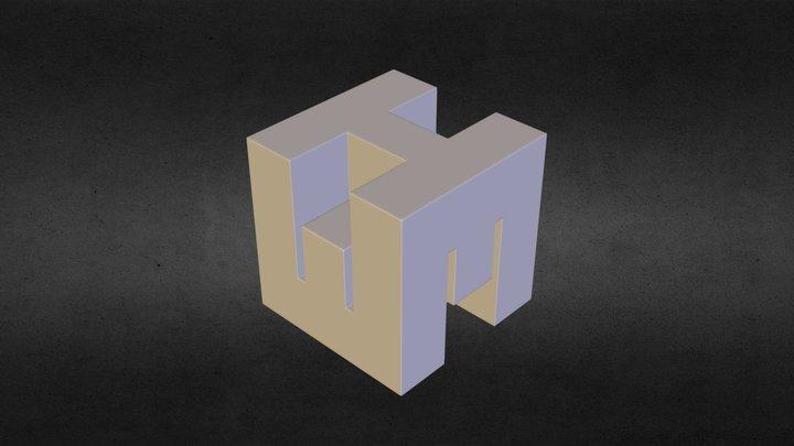 EHE - logo 3D Model