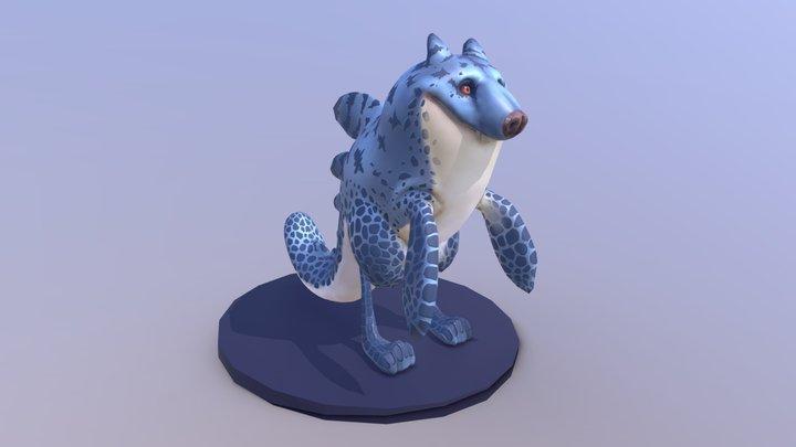 Aquatic Wolf 3D Model