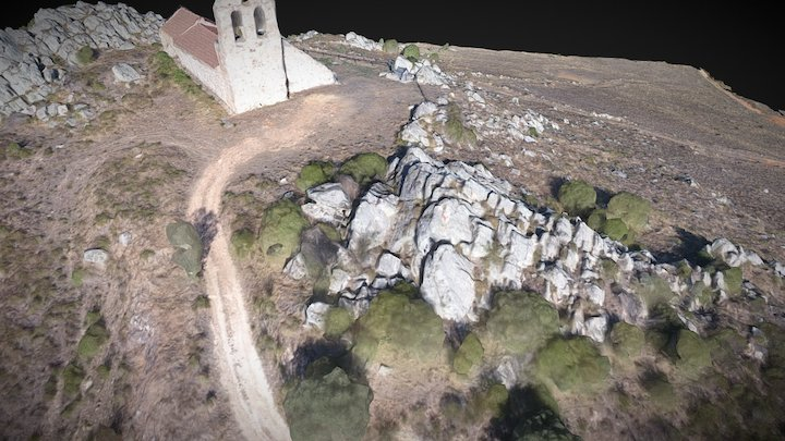 Ermita de San Esteban, Brime de Urz (12-7-2017) 3D Model
