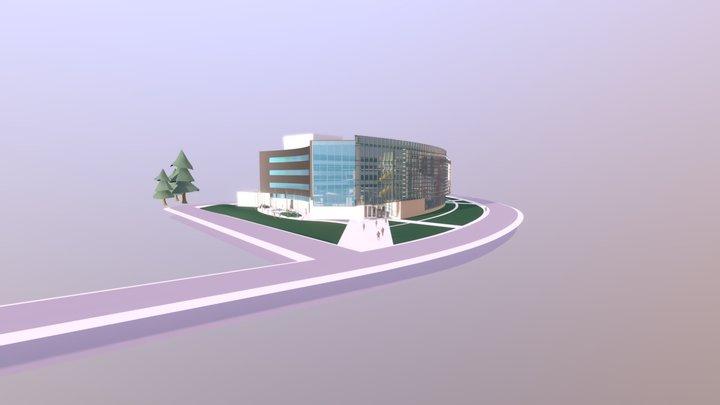 U-M Ford Motor Company Robotics Building 3D Model