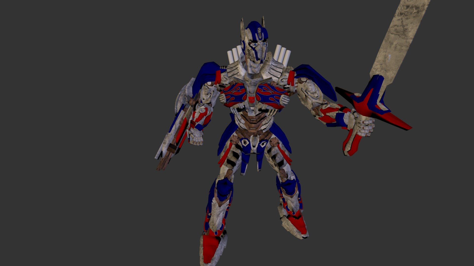 Age Of Extinction The Last Knight Optimus Prime 3d Model By