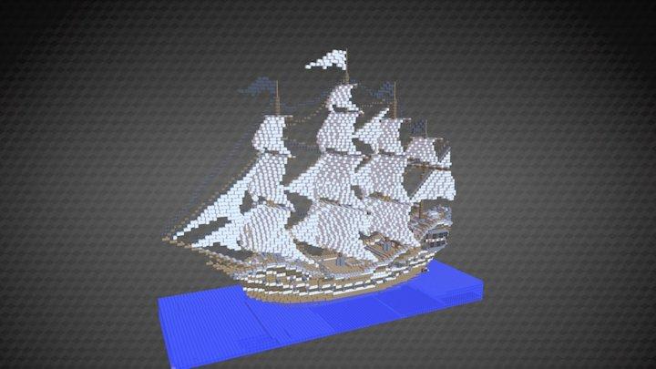 The Watcher 3D Model