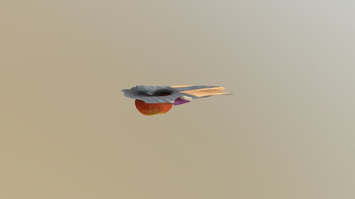 Citrouille 3D Model