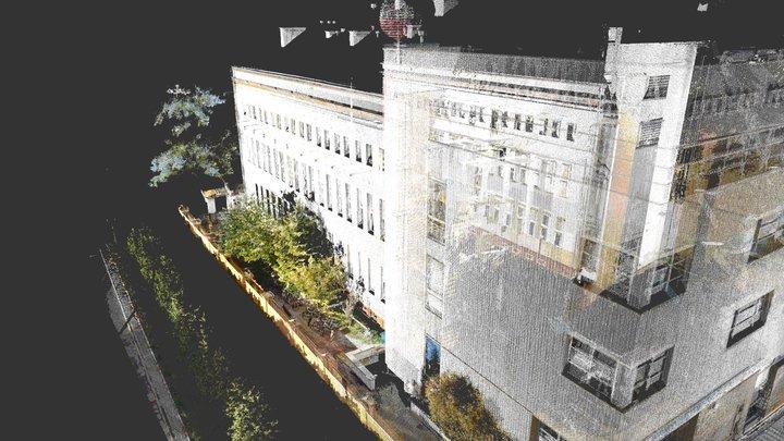 Budynek główny PJATK 3D Model