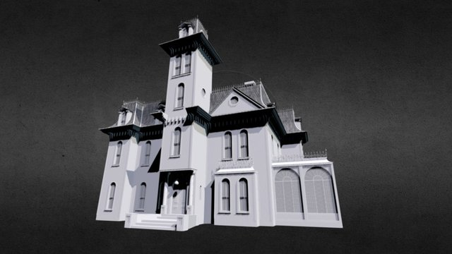Addams Family Mansion (1991) 3D Model