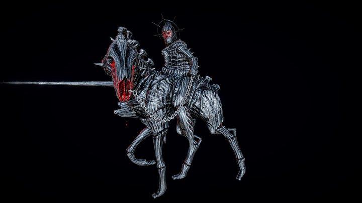 Death Knight 3D Model