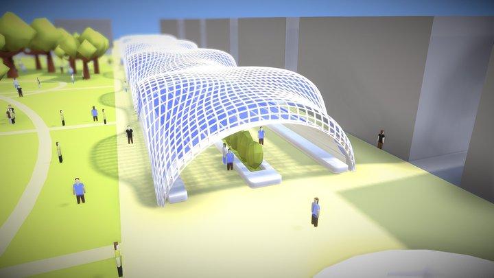 Centro Soterramiento 3D Model