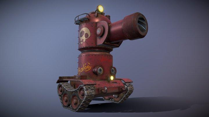 Baloo! 3D Model
