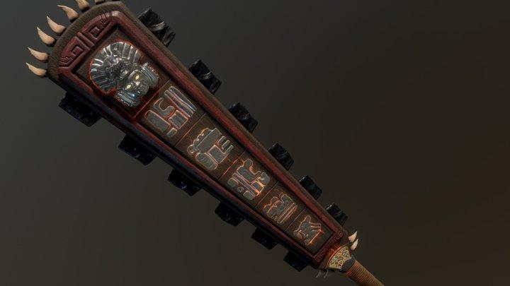 Mystical Weapon : Sword of The Jaguar Lord 3D Model