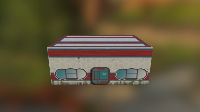 Building 1 3D Model