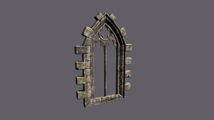 GothicArchway 3D Model