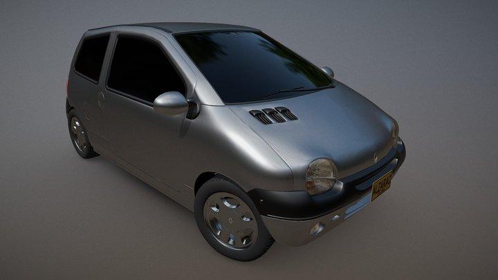 Renault Twingo 2005 3D Model
