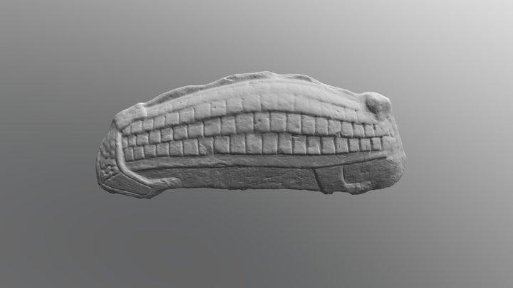 Govan 12 Hogback 3D Model