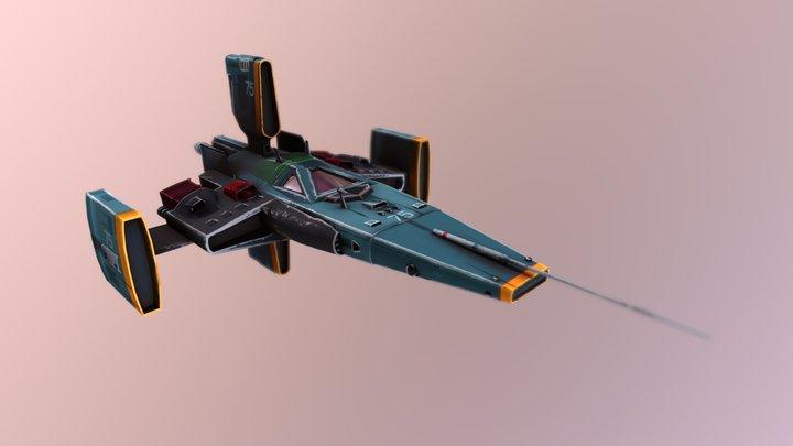Starfighter 75 3D Model