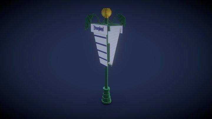Lamp from the Disneyland Resort Entrance Plaza
