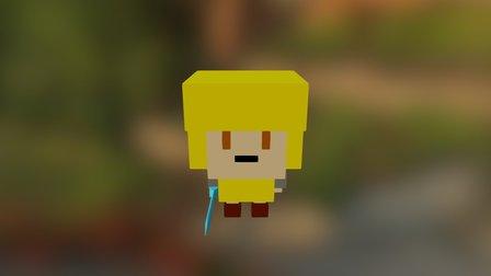 Little Hero 3D Model
