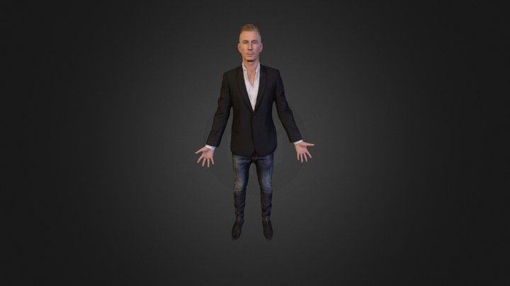 Ready For Walkcycle1 3D Model