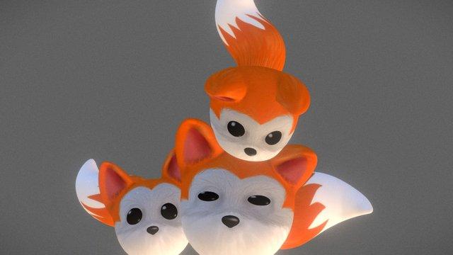 FoxBall 3D Model