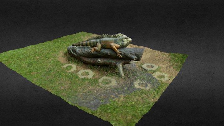 Tuen Mun Park - Lizard 3D Model