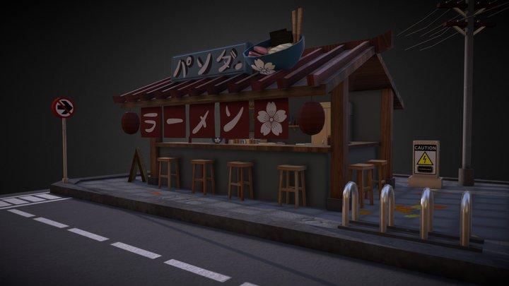 diorama restoran 3D Model