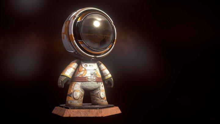 #MeetMat: Mat Watney - The Martian 3D Model