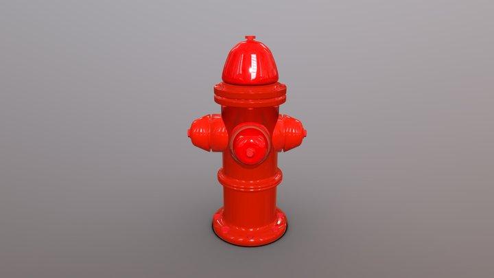 Hidrante De Agua 3D Model