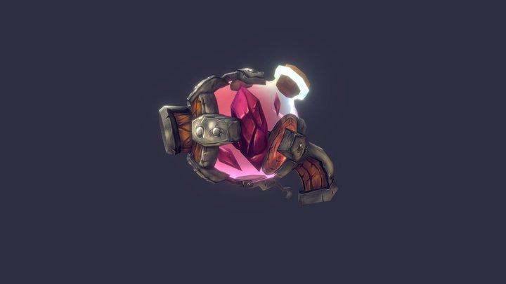 【Magic Stone Gun】 3D Model