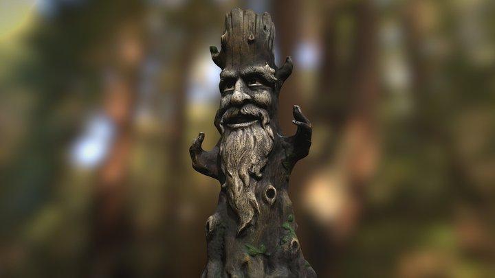 Wise Tree 3D Model