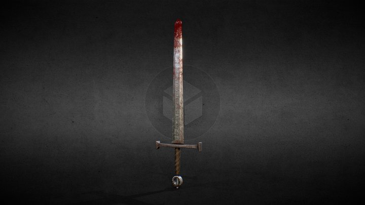 One Day Models: Sword 3D Model