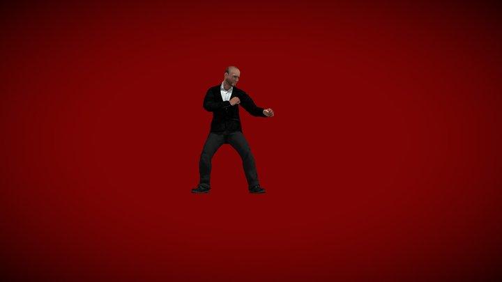 Jason Stathan Combat 3D Model
