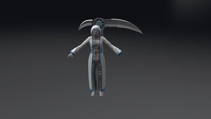 Karron Character Model 3D Model