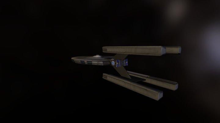 USS Stargazer 3D Model